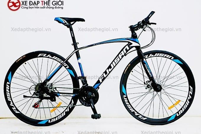 Xe đạp thể thao Fujisan phiên bản màu Đen- xanh dương